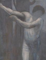"""PIERRE PUVIS DE CHAVANNES, """"Esquisse pour Le Bûcheron (Sketch for The Woodcutter)"""", 1892"""