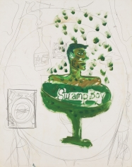"Peter Doig ""Taboo"", ca. 1985"