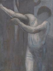 """""""Esquisse pour Le Bûcheron (Sketch for The Woodcutter)"""", 1892"""