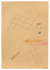 "Sigmar Polke ""Eintopf (Stew)"", 1965"