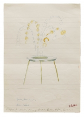 """Fountain, Beer Coaster"", 1967-1968"