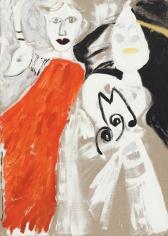 """Ibex"", 1986 Oil on canvas"