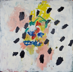 """Nest"", 1990 Oil on canvas"