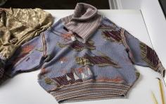"""Untitled"", 2014 Wool jumper, unique"