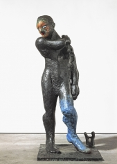 """Apollo"", 1989 Painted bronze, from an edition of 6"