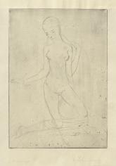 """""""Kniende, groß"""", 1911"""