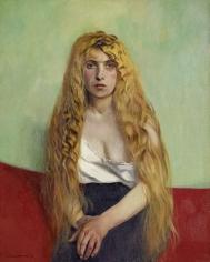"""""""La Chevelure blonde"""", 1915"""