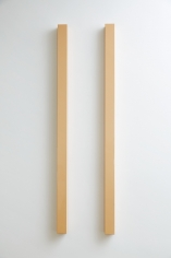 """""""YELLOW-PINK TWO PARALLEL POLES"""", 1966"""