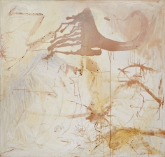 """Untitled"", 1990 Silver nitrate, silver bromide, silver sulfate, dammar varnish on linen"