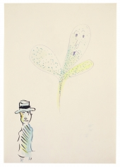 """""""Untitled (Man with Ghost)"""", ca. 1964"""