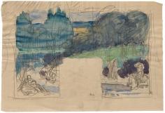 """""""Étude pour L'Été (Study for Summer)"""", ca. 1890-1891"""