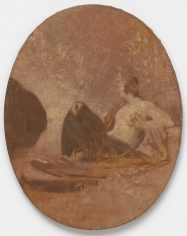 "PIERRE PUVIS DE CHAVANNES, ""Esquisse pour La Contemplation (Sketch for Contemplation)"", 1864"