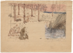 """""""Étude pour L'Hiver (Study for Winter)"""", ca. 1890-1892"""