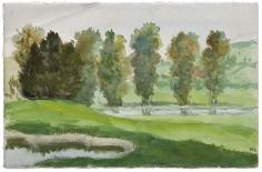 """Rivière en Brese (River in Bresse)"", ca. 1870-1890"