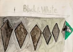 """Untitled"", 2013 Watercolor, gum arabic, pencil on paper"