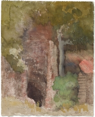"""""""Ruines dans une forêt (Ruins in a Forest)"""", ca. 1870-1890"""