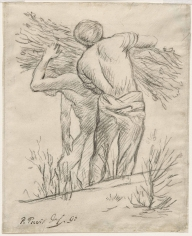"PIERRE PUVIS DE CHAVANNES, ""Porteurs de fagots (Men Carrying Branches)"", 1892"