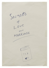 """""""Secrets of Love and Marriage"""", ca. 1967-1968"""