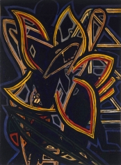 """""""Untitled"""", 1936 Oil on paper mounted on panel"""