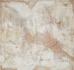 """""""Untitled"""", 1990 Silver nitrate, silver bromide, silver sulfate, silver iodide on linen"""