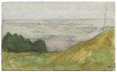 """""""La mer vue de la falaise (The Sea Seen from the Cliff)"""",ca. 1870-1890"""