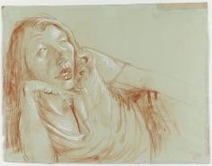"Otto Dix ""Liegende (Frau Carlowitz)"