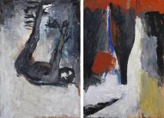 """""""Akt und Flasche (Nude and Bottle)"""", 1977"""