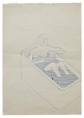 """""""Untitled (Woman in Bathtub)"""", ca. 1963"""