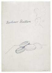 """""""Berliner Ballen (Berlin Donuts)"""", 1965"""