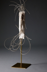 """""""Trancing"""", 2013 Plaster, willow, brass"""