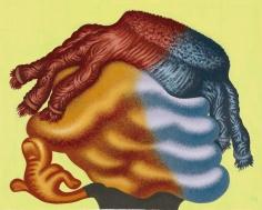 "Peter Saul ""Untitled (Head)"", 2012"