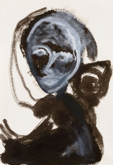 """""""Untitled"""", 1985 India ink, gouache on paper"""