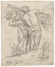 """""""Porteurs de fagots (Men Carrying Branches)"""", 1892"""
