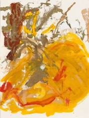 """""""Untitled"""", 1992 India ink, gold pigment on paper"""