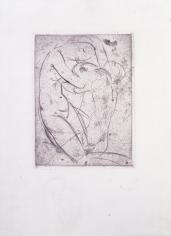 """Pygmalion"", 1914 Etching"