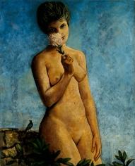 """Francis Picabia """"Femme aux chrysanthèmes"""", ca. 1942"""