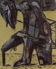 """Markus Lüpertz """"Il Vecchio (The Old)"""", 1990"""