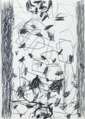 """Untitled"", 1991 Pencil on paper"