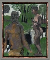 """Markus Lüpertz """"Mistelzweig (Mistletoe)"""", 2017"""