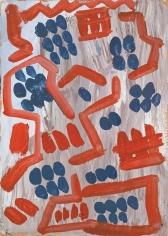 """""""Standart"""", 1968 Oil on board"""