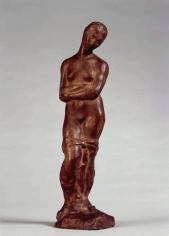 """WILHELM LEHMBRUCK, """"Kleine Sinnende"""", 1910-1911"""