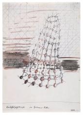 """Potato Pyramid in Zwriner's Cellar"", 1969"
