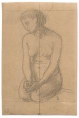 """""""Étude pour Les bûcherons (Study for The Woodcutters)"""", 1873"""