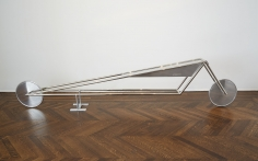 """""""NICKEL FRAME VEHICLE WITH ALUMINUM TRIANGLE TANK AND WHEELS_F_MODEL 71"""", 2013"""