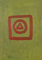 """Untitled"", 1968 Oil on board"
