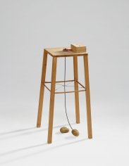 """Potato Machine - Apparatus Whereby One Potato Can Orbit Another"", 1969"