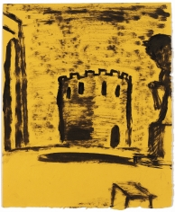 """""""Untitled"""", 1984 Oil on paper"""