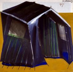 """""""Zelt 47 – dithyrambisch (Tent 47 – dithyrambic)"""", 1965"""