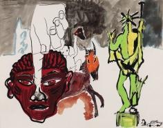 """Peter Doig """"Rome School"""", 1985"""