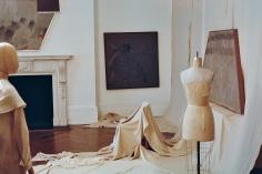 "Installation view: ""Kai Althoff"", Michael Werner Gallery, London, 26 September through 15 November 2014,"